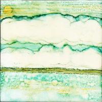 large cloudy sky landscape