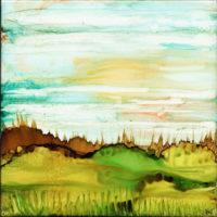 spiky grass landscape