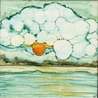scrambled egg in the sky landscape