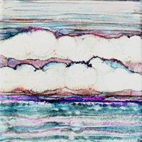 rolling clouds landscape_sold