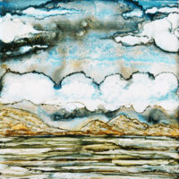 stormy day landscape_sold