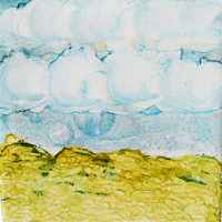 tumbling clouds landscape_sold