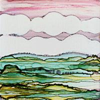 rolling hills landscape_sold
