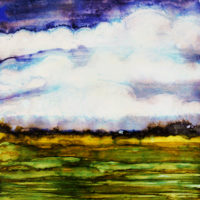 dark and stormy landscape_sold