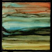 three piece verticle landscape